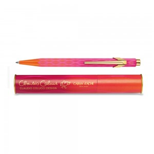 849-claudio-colucci-orange-and-pink-ballpoint-pen-limited-edition