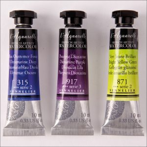 0V07002000000-ST-01-Sennelier-lAquarelle-Watercolor-10ml-Tubes